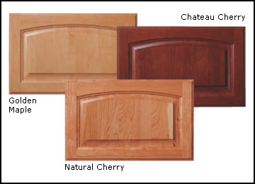 Maple, Oak & Cherry