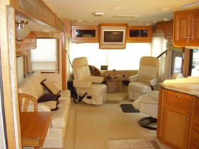 Damon Intruder Double Slide Quality Used Motor Homes