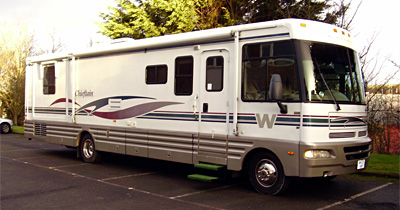Winnebago Chieftain Double Slide-Out