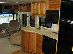 Winnebago Chieftain Interier
